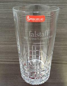 Lasergravur auf Glas